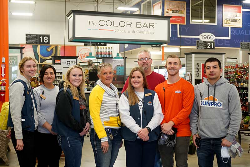 Sunpro Springville Store Team