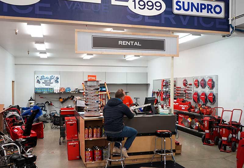 Sunpro Springville Store Rental
