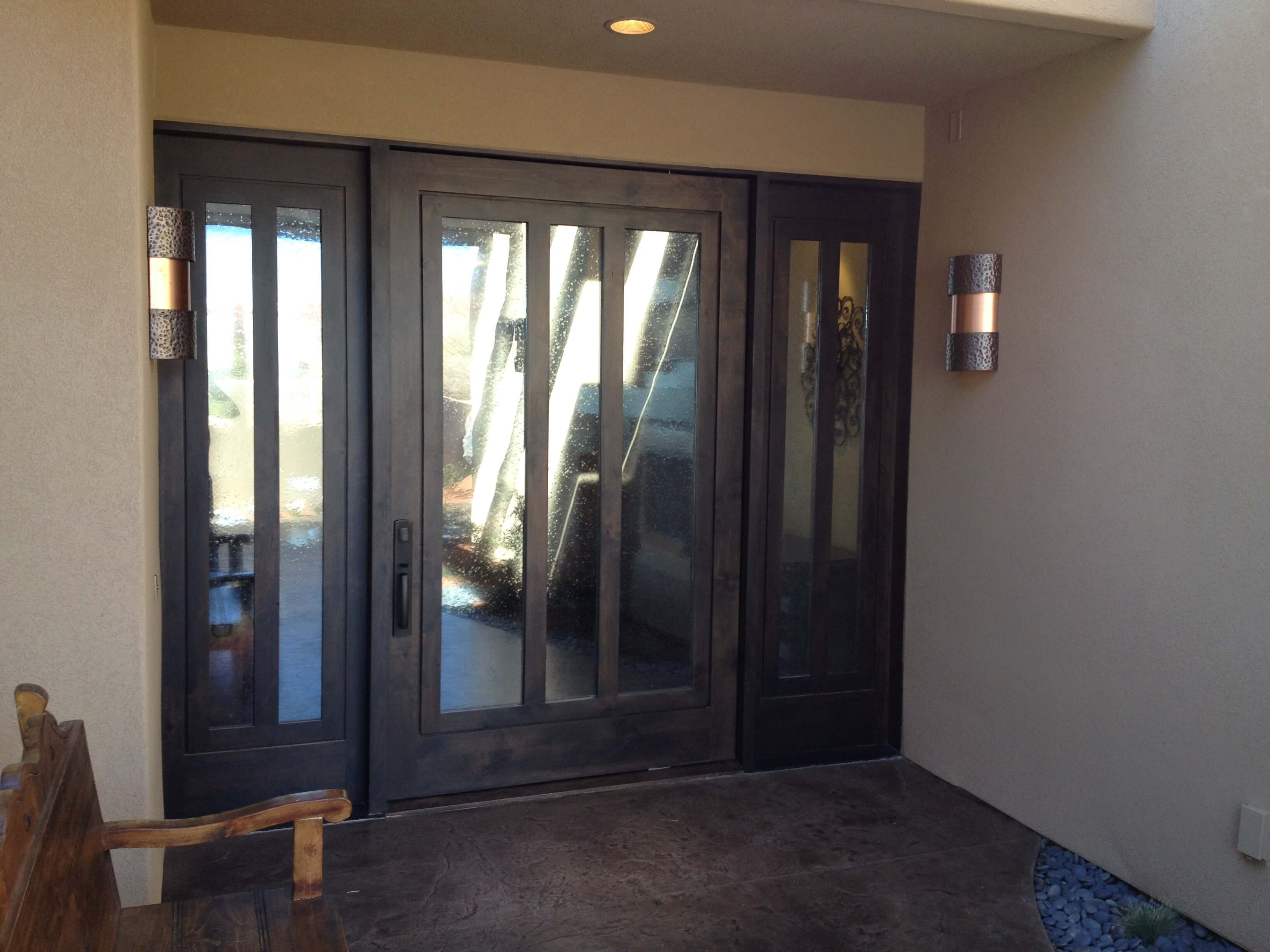 custom doors, custom homes st. george, sunroc doors