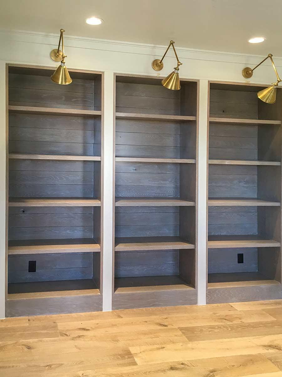 Sunpro Millwork Built in Bookcase