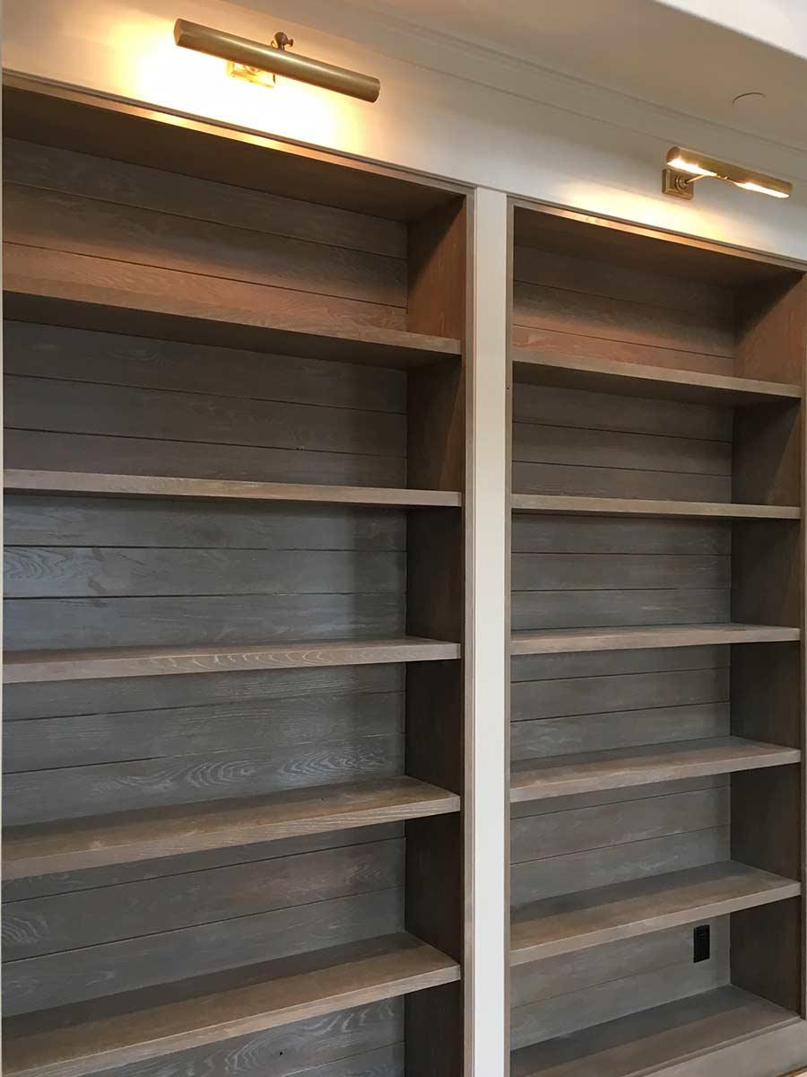 Sunpro Millwork Built in Shelves