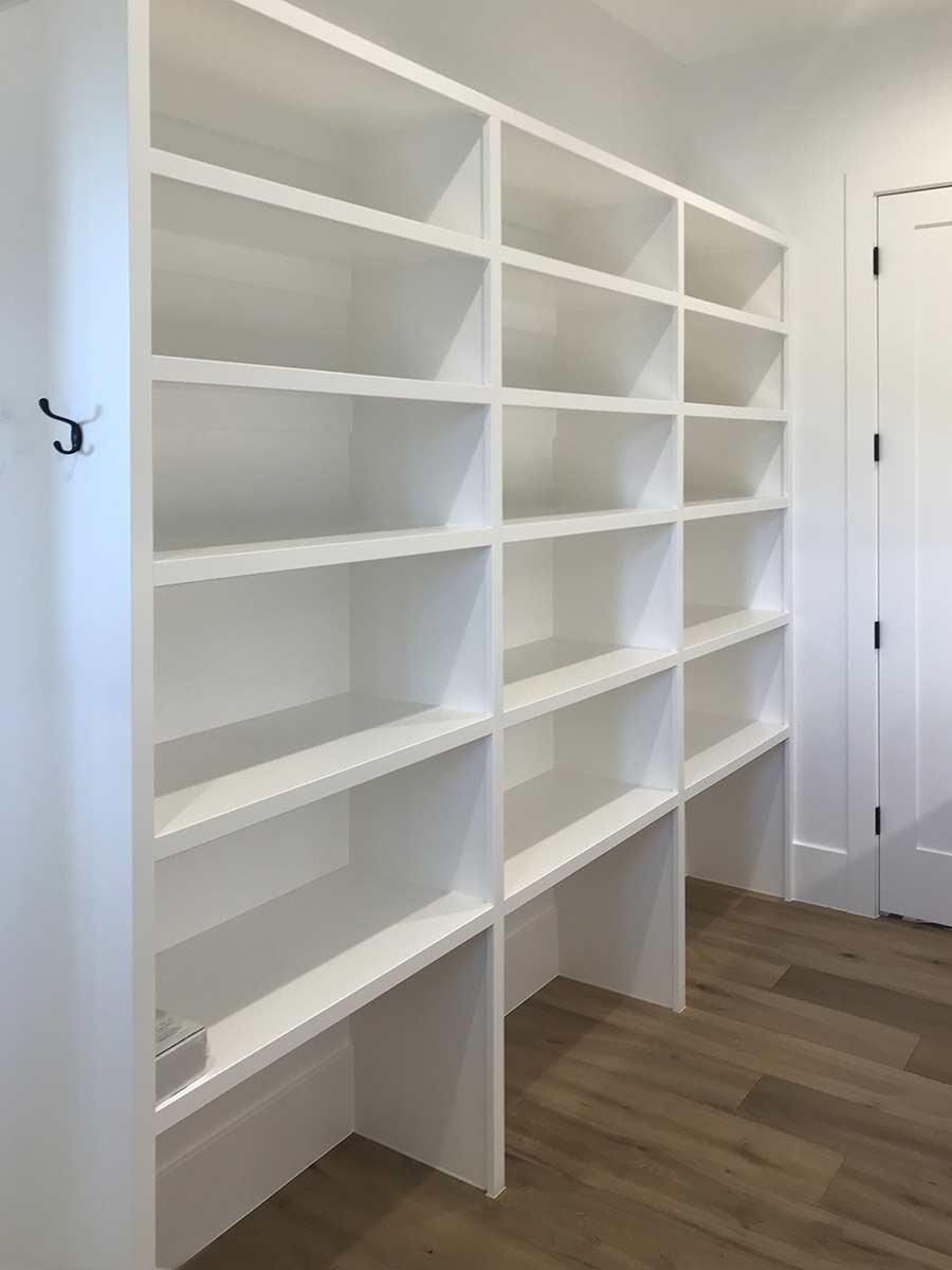Sunpro Millwork Built in Closet Shelves