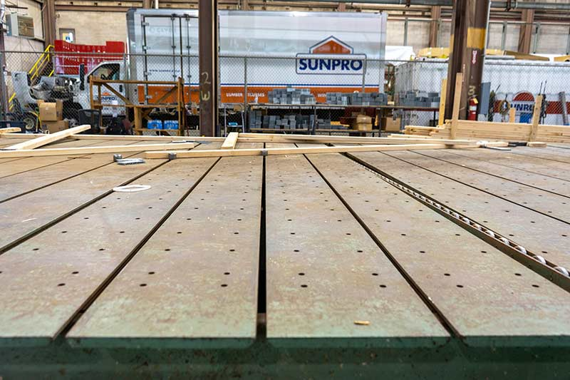Sunpro Lindon Truss Manufacturing Table