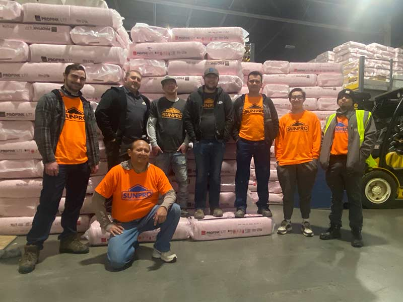 Sunpro Salt Lake City Insulation Team