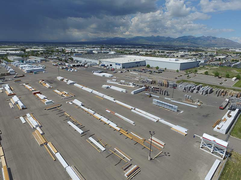 Sunpro Salt Lake City Lumber Yard