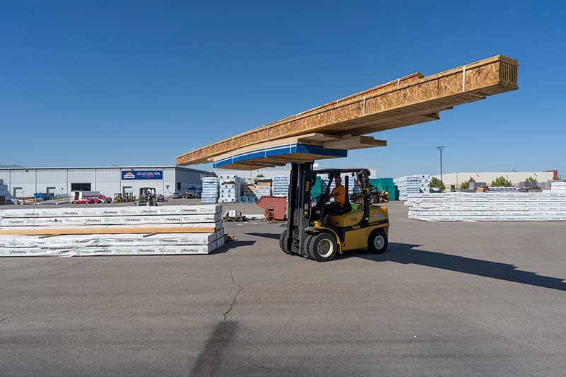 Sunpro Salt Lake City Lumber Yard lumber