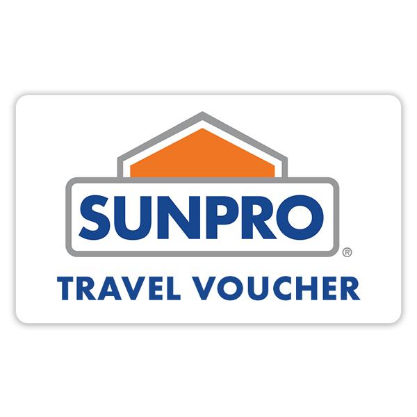 Sunpro Rewards Travel Voucher