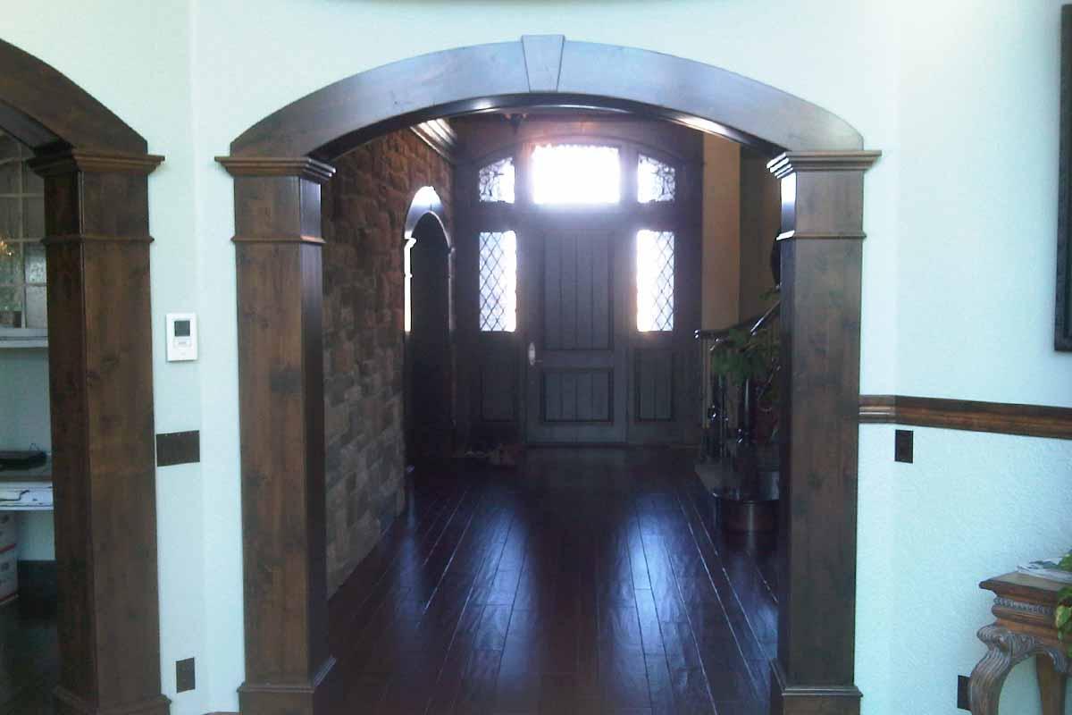 Sunpro Millwork Custom Arch