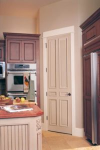 Interior door, solid-core door, painted interior door, painted kitchen door, painted pantry door