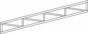 Sloping Flat Truss