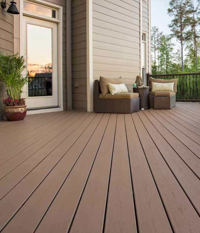 Sunrpro decking by Trex